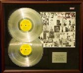 THE ROLLING STONES -Dble Platinum Disc&cover Presentation - EXILE ON MAIN STREET